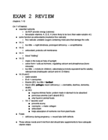 NEP 1034 - Study Guide