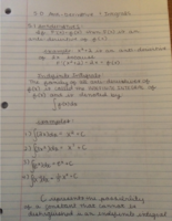 MATH 1350 - Class Notes - Week 1