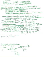 ECO 441 - Class Notes - Week 1