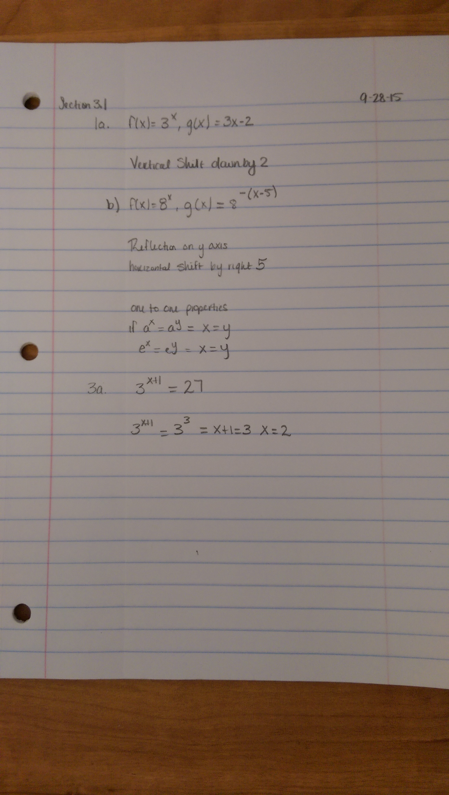 MATH 1508 - Class Notes - Week 2