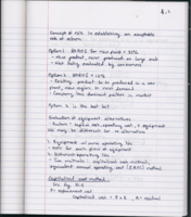 OU - CHE 4253 - Class Notes - Week 5