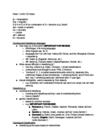 Cal State Fullerton - LING 102 - Class Notes - Week 1