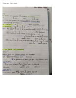 CHEM 1020 - Class Notes