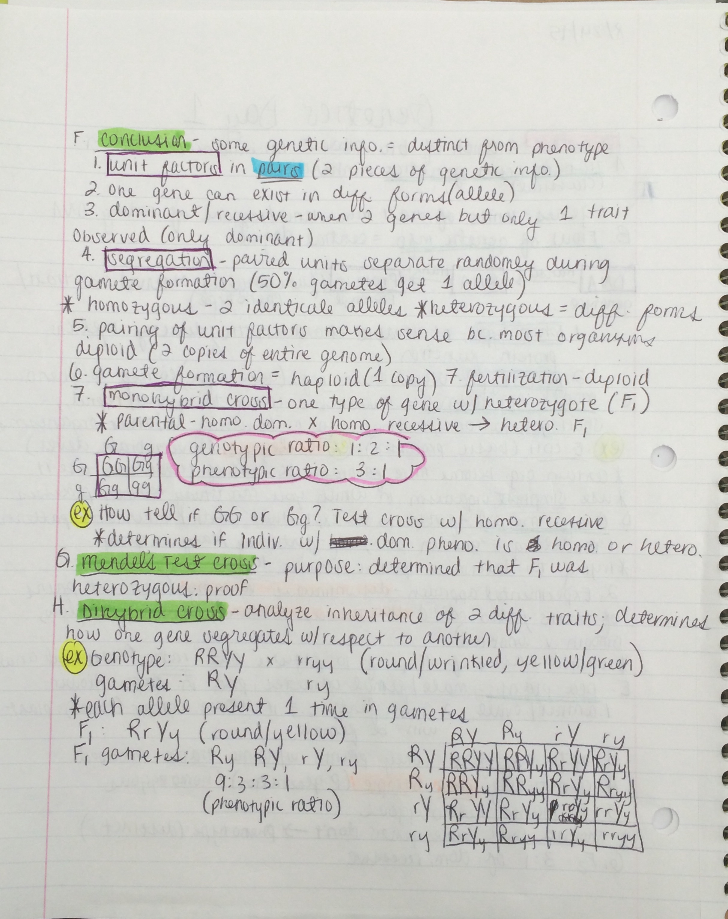 BIOL 3301 - Class Notes - Week 1