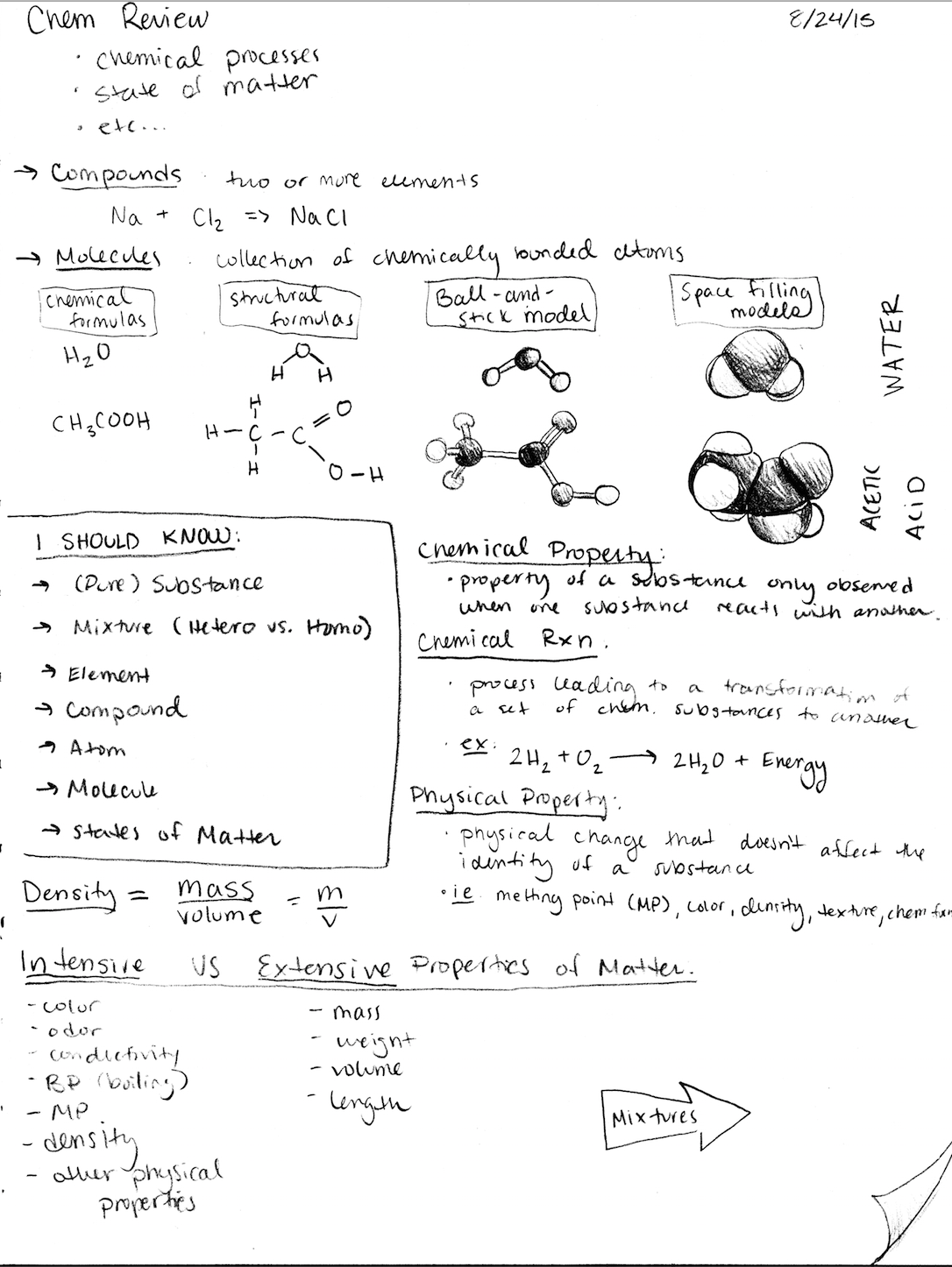 Sci 030 - Class Notes - Week 1