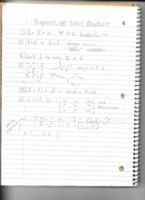 MATH 2415 - Class Notes - Week 2