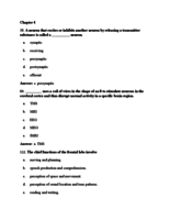 PSY 1200 - Study Guide