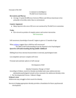 PSY 335 - Class Notes - Week 16