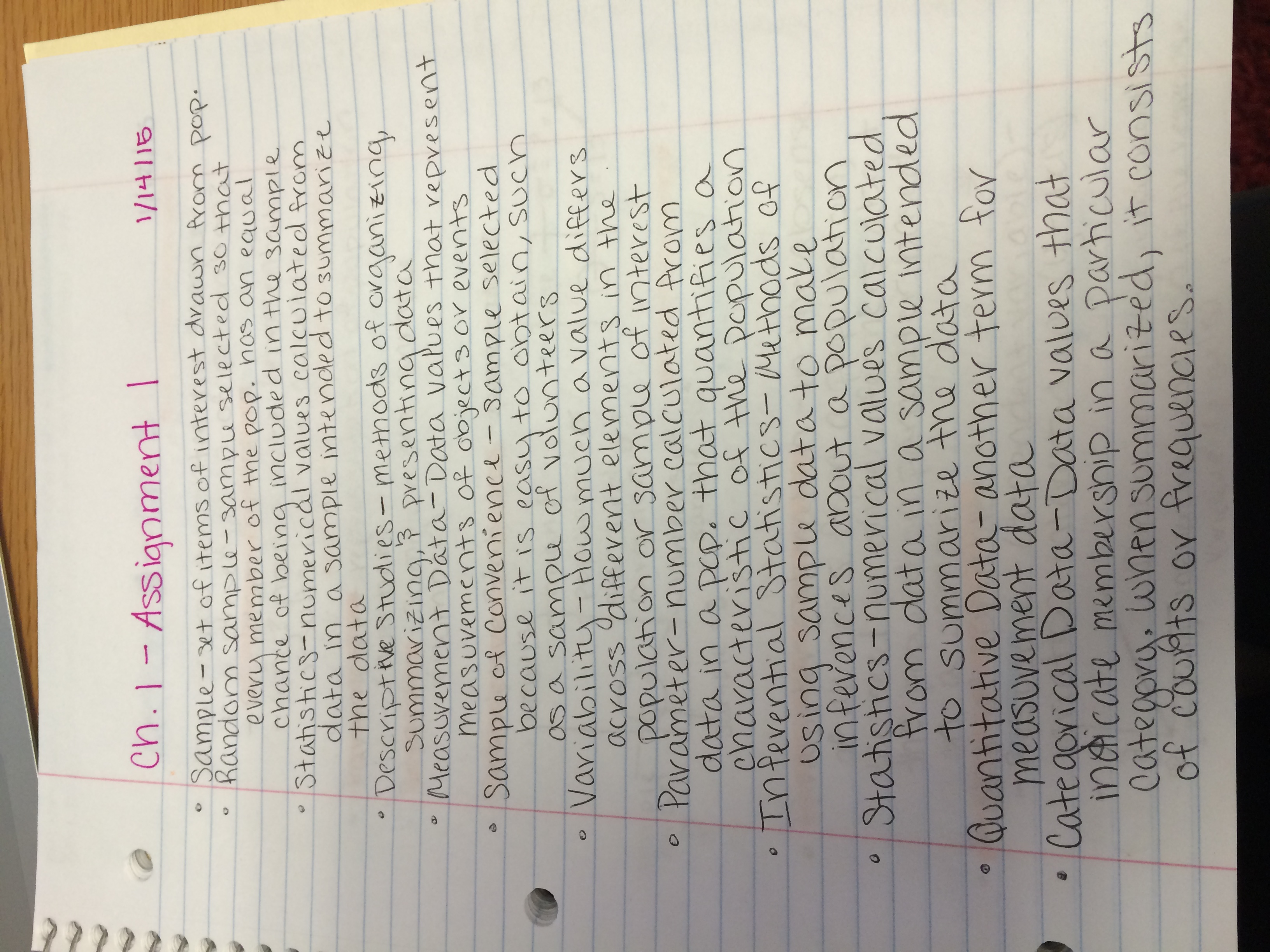 PY 211 - Class Notes