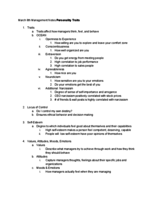 ECO 2020 - Class Notes - Week 7