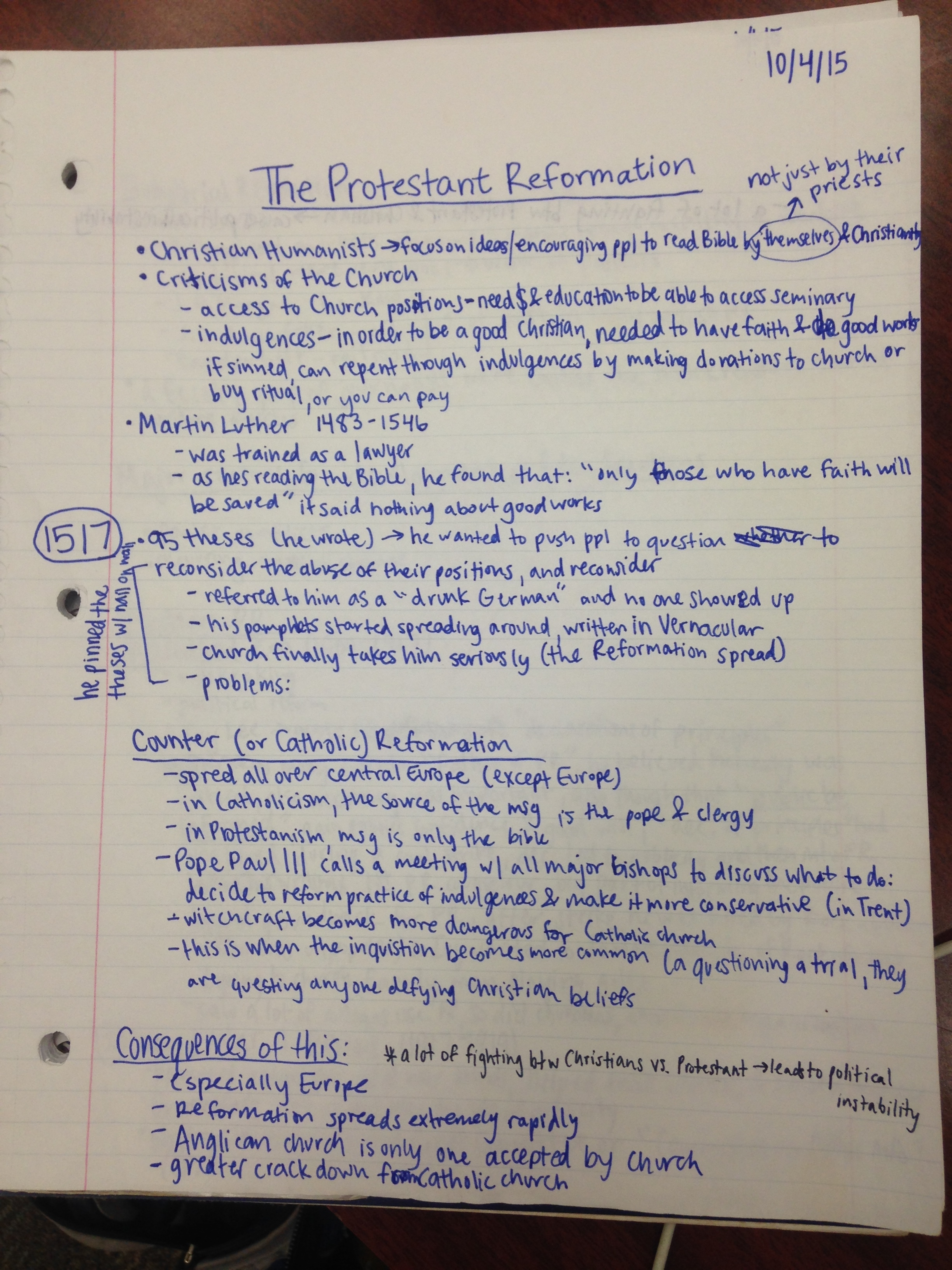 HIST 1010 - Class Notes - Week 2