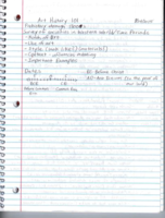 HIST 101 - Class Notes
