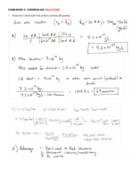 UMass - CHEM-ENG 220 - Class Notes - Week 7