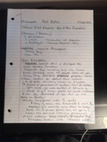 HIST 1010 - Class Notes - Week 3