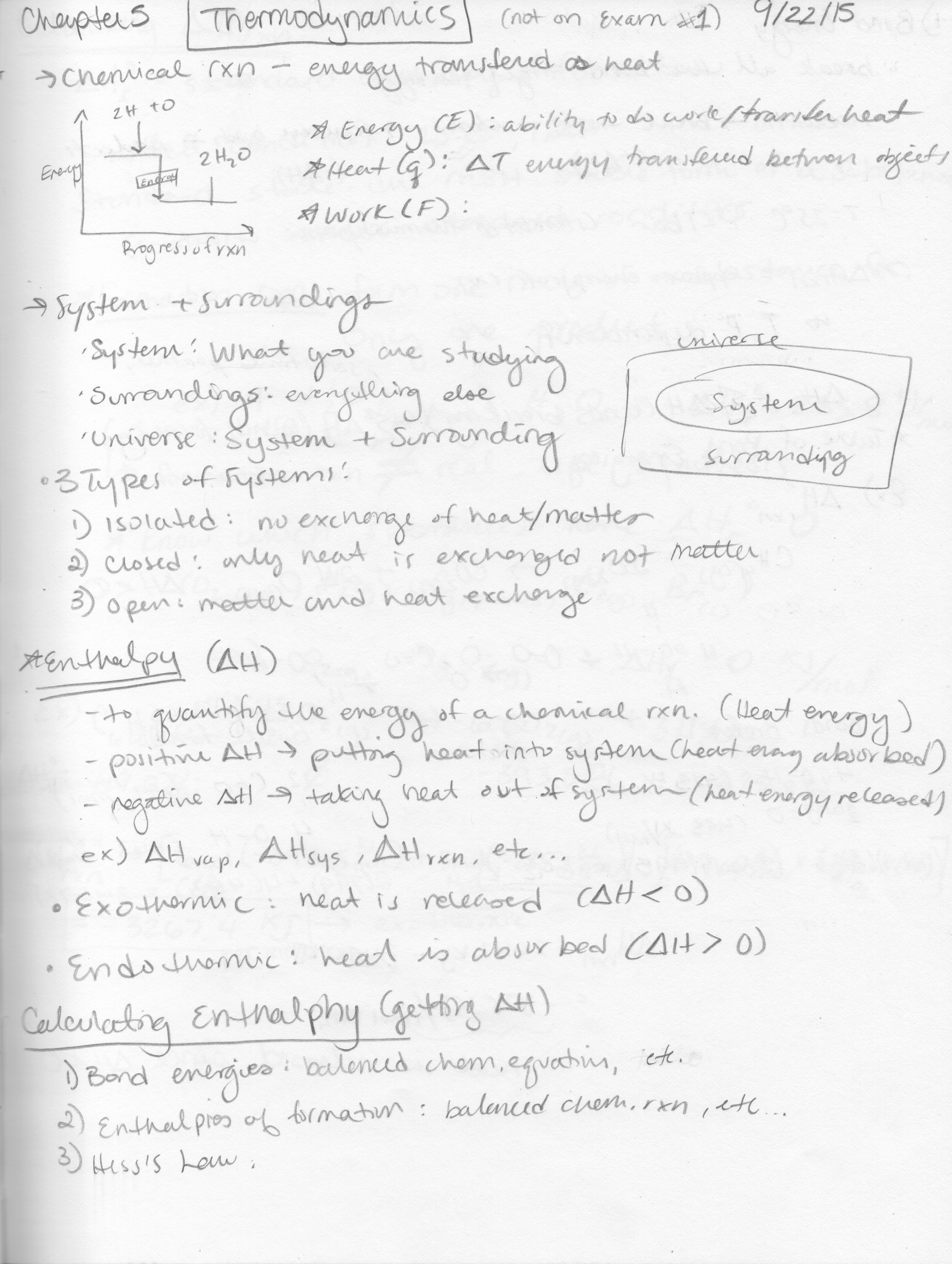 Sci 030 - Class Notes - Week 6