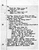 BUS MGMT 276 - Class Notes - Week 1