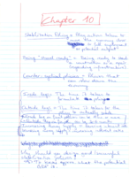 ECO 105 - Class Notes - Week 14