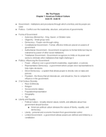 Ohio - HIST 1010 - Class Notes - Week 1