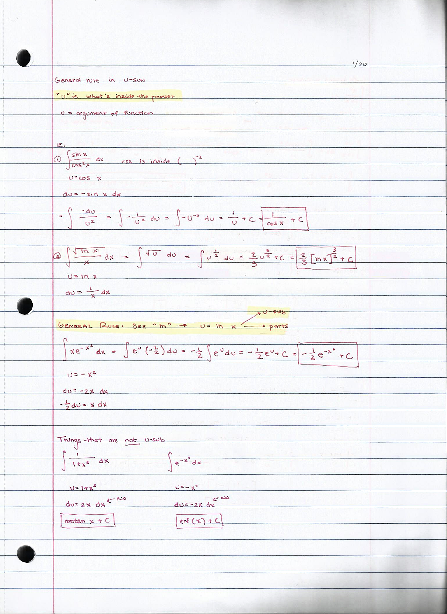 MA 408 - Class Notes - Week 1
