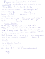 Syracuse - PHY 212 - Class Notes - Week 3