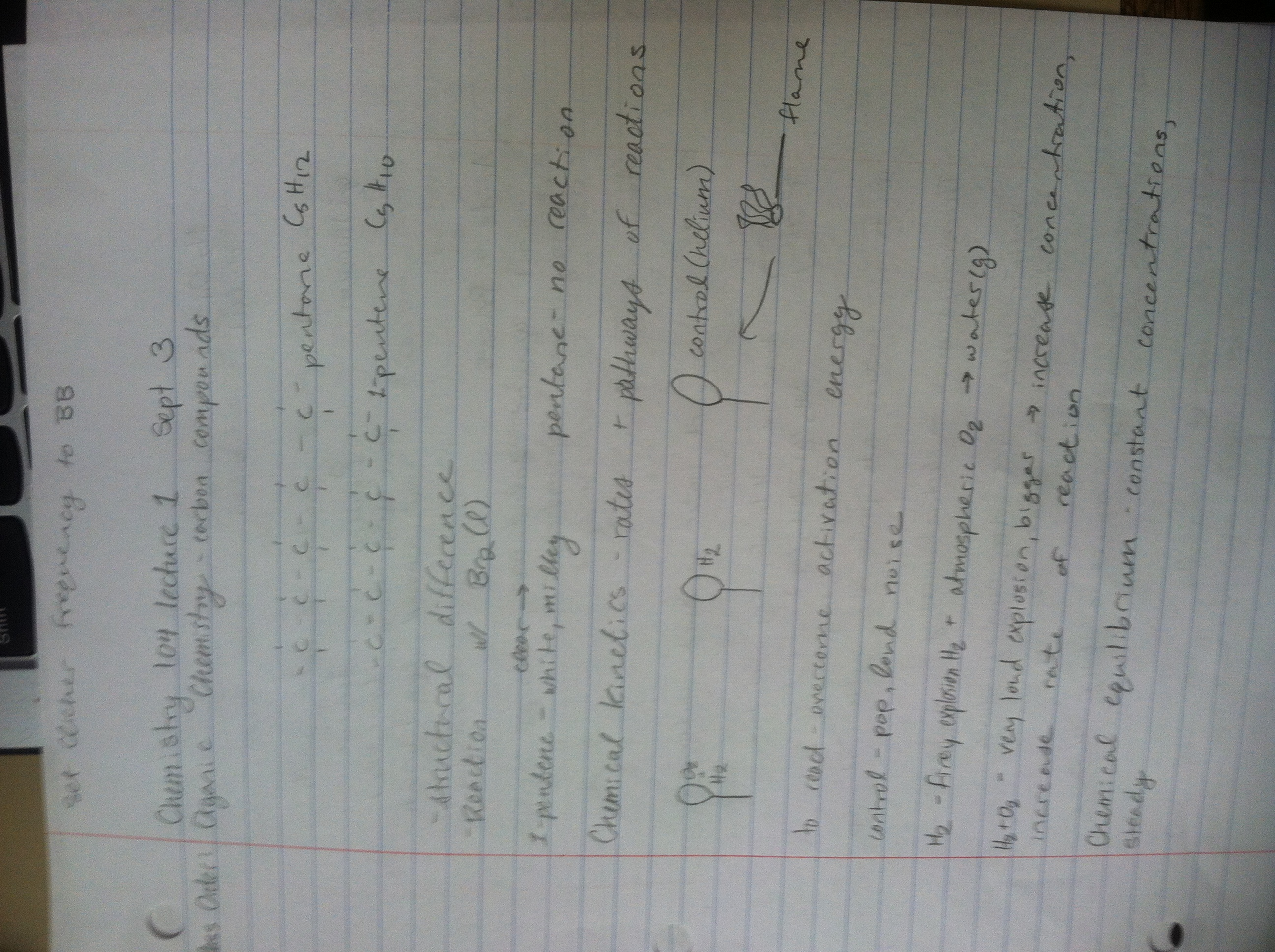 CHEM 104 - Class Notes