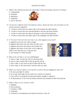 BISC 1007 - Study Guide