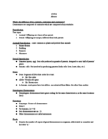 EAPS 11100 - Class Notes