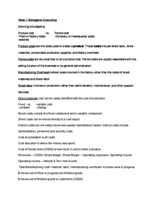 ACC 204 - Class Notes - Week 1