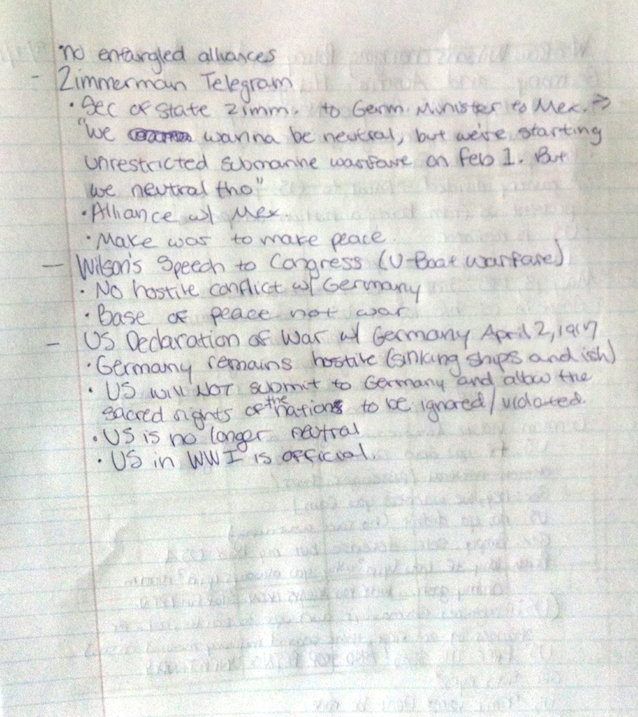 HIS 113 - Class Notes