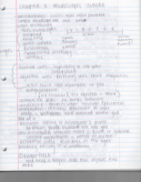 BIO 2440 - Class Notes - Week 2