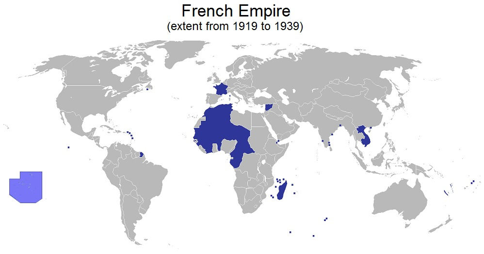 When did the French colonialism start?