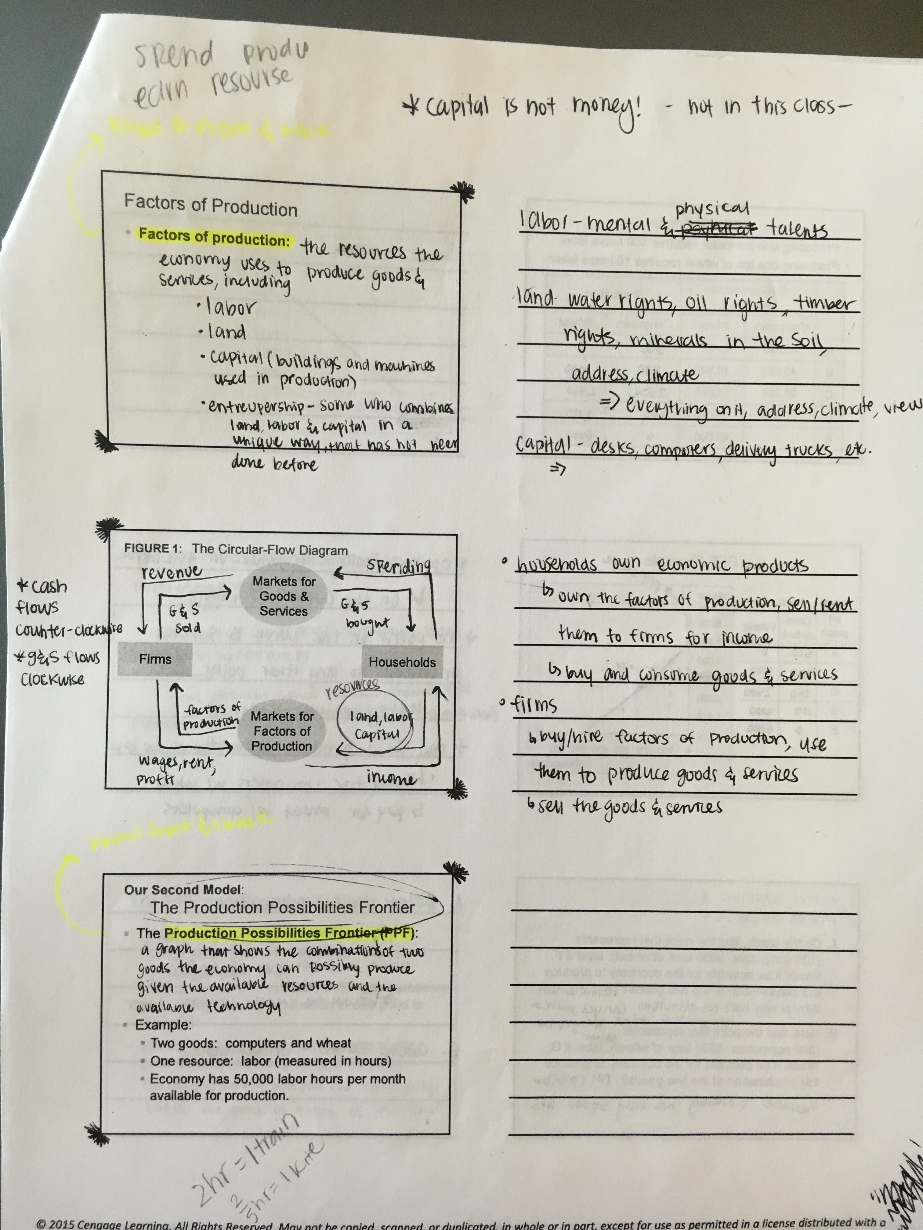 ECON 10233 - Class Notes - Week 1