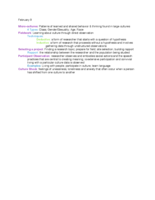 Towson - ANTH 207 - Class Notes