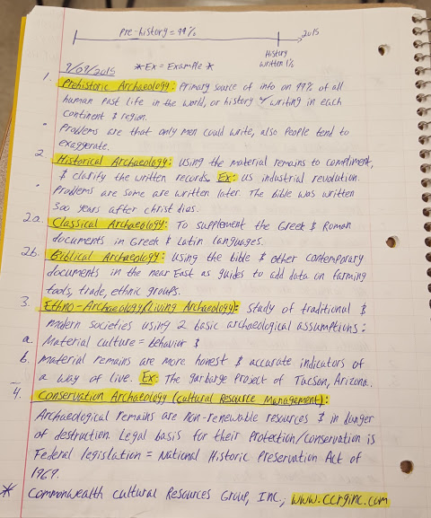 ANTH 175 - Class Notes - Week 2