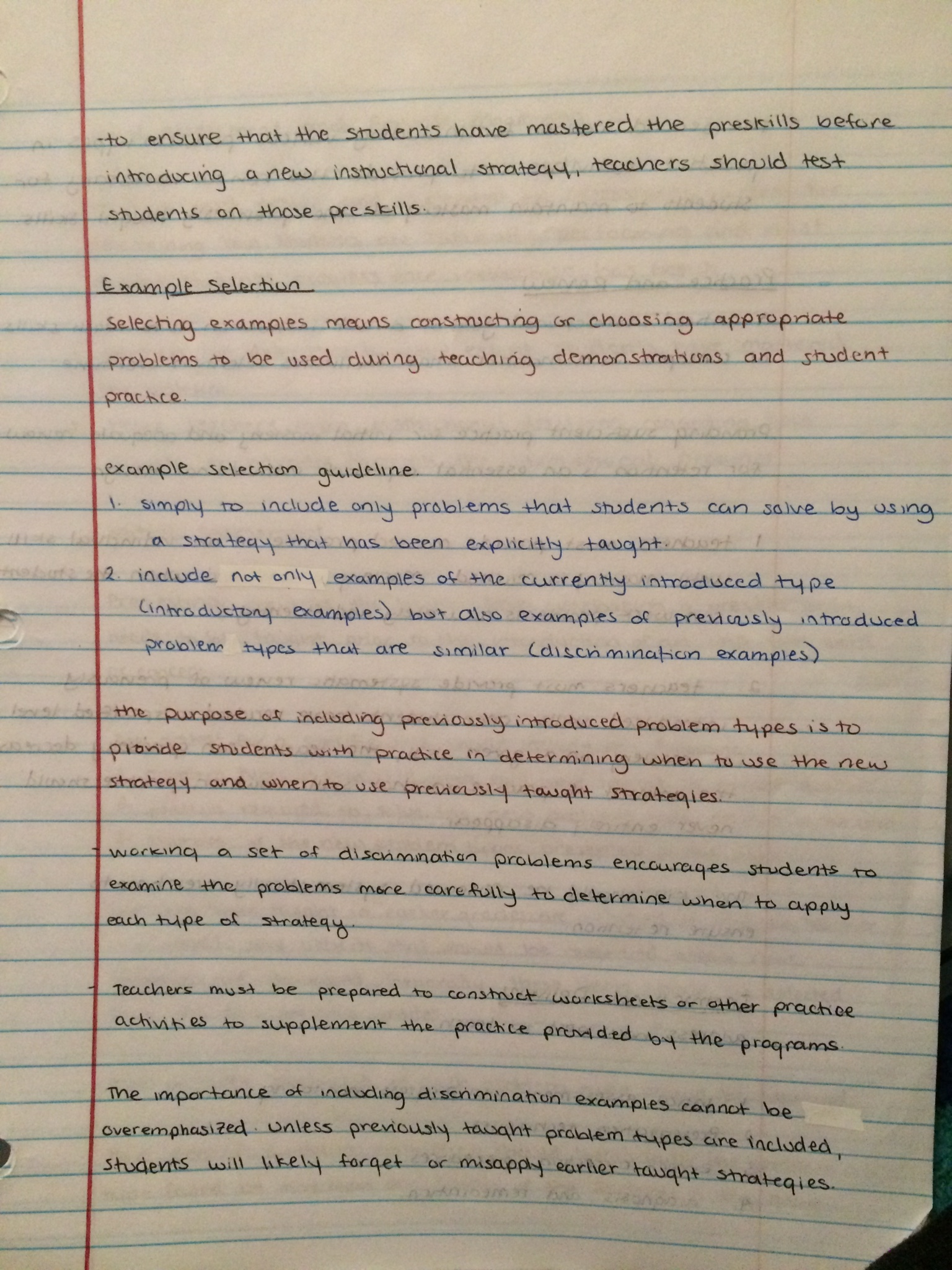 SPED 482 - Class Notes - Week 1