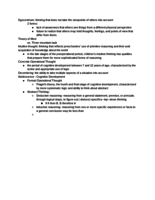 PSY 335 - Class Notes - Week 8