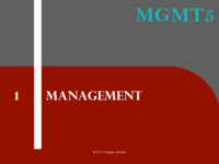 MGT 3200 - Study Guide