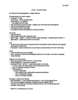 BSC 120 - Study Guide