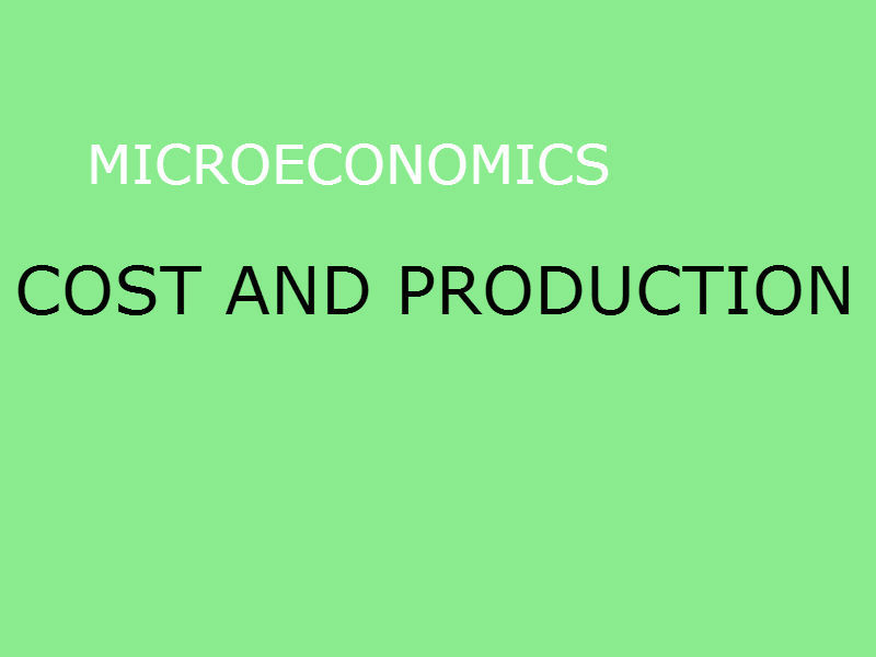 ECON 22060 - Class Notes - Week 2