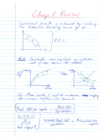 ECO 105 - Class Notes - Week 10