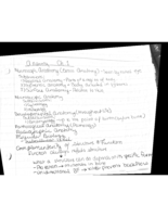BIOL 2311 - Class Notes - Week 1