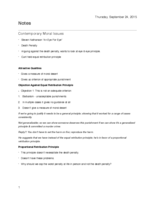 PHIL 211 - Class Notes - Week 1