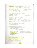 MATH 1508 - Class Notes - Week 1