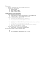 MB 250 - Study Guide