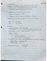 PHYS 2010 - Class Notes - Week 10