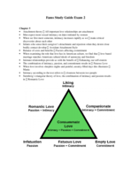 according to sternberg's triangular theory of love, love involves