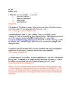 FLL 206 - Study Guide