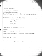 PHY 2170 - Class Notes - Week 1