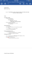 PSY 32749 - Class Notes - Week 2