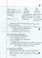CHEM 10061 - Class Notes - Week 1